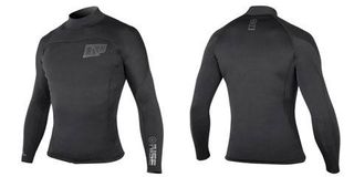 NP MENS RISE NEO SHIRT 2mm  L/S 2015  XL  C2 graphite/charc