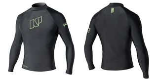 NP MENS CONTENDER TOP L/S S C1 black
