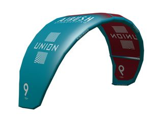 2021 Airush Kite Union V6 Red and Teal - Kite Only   6 qm