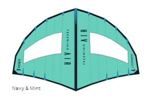 2021 Airush FreeWing Air Navy/mint